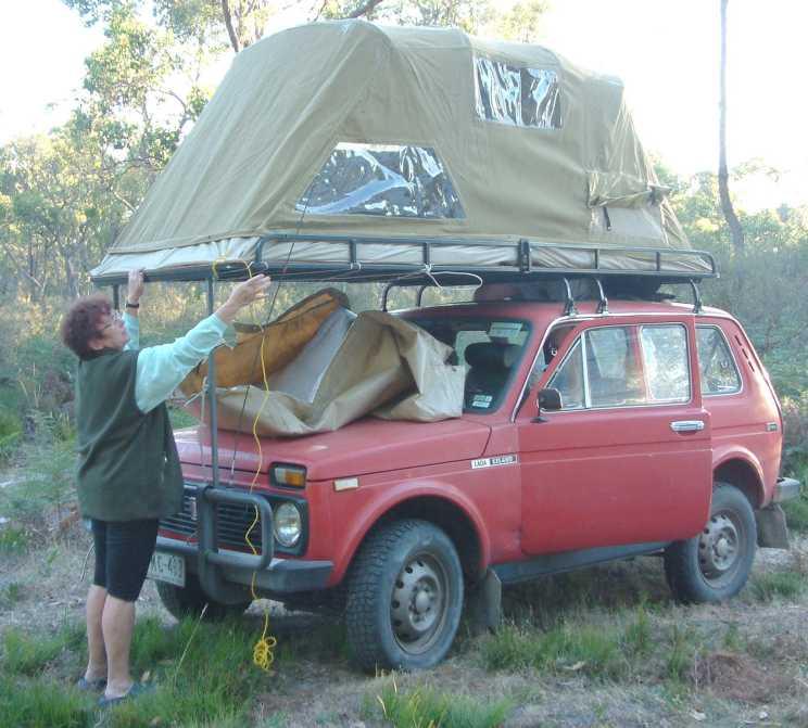Палатка на крышу авто своими руками